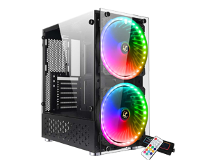 Tsunami Coolman Unlimited T9+ Rainbow Fan RGB
