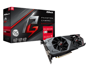 ASRock Phantom Gaming X RX 590 8G OC